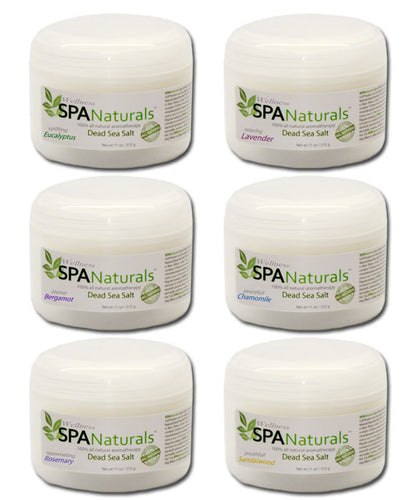 inSPAration Spa Naturals Dead Sea Salt Aromatherapy