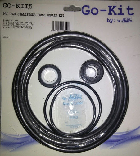Pac Fab Challenger,  Aladdin Go-Kit5 Repair O-Ring Kit Gasket