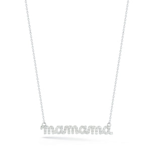 Tali Gillette Diamond Horizontal Mama Necklace