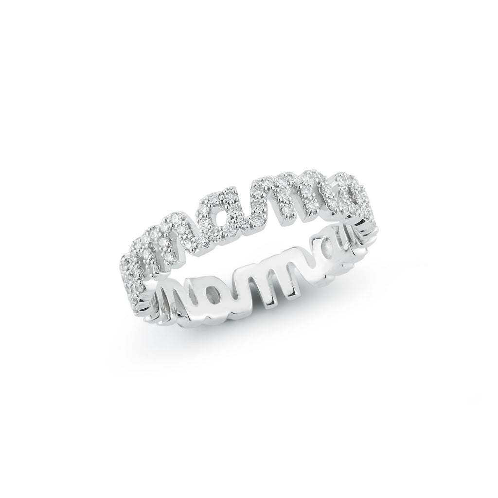 Tali Gillette Diamond Pave Mama Ring