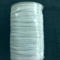 "150 Yard Roll White 1/4"" Elastic"