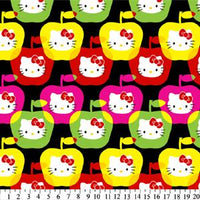 Anti-Pill Hello Kitty Apples Fleece 154