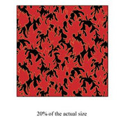 Anti-Pill Red Flames Fleece 205