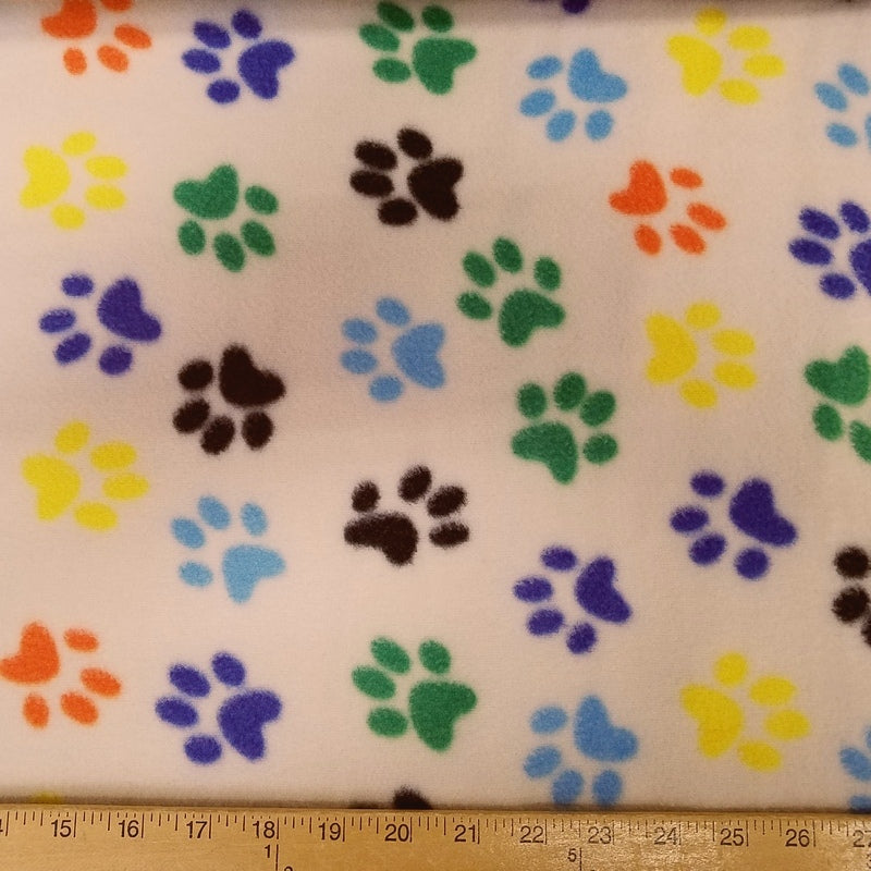 Paws Rainbow Fleece 20