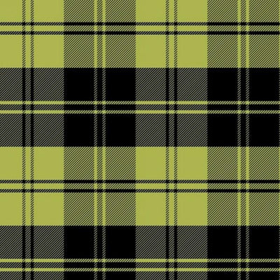 Premium Anti-Pill Double Take Plaid Chartruese Fleece 237