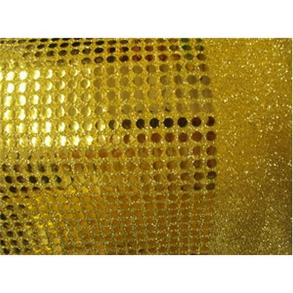 "Large Confetti Dot Sequins 1/4"" GOLD"