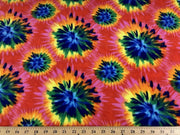 Anti-Pill Tie Dye Fleece 24