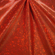 Metallic Hologram Foil Spandex ORANGE