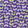 Premium Anti-Pill Butterflies Orchid Fleece 280