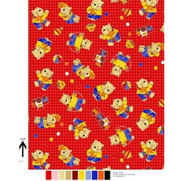 Premium Anti-Pill Play Bears Fleece 298