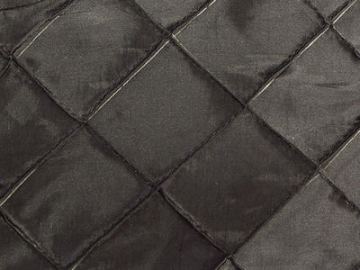Taffeta Diamond Pintuck BLACK 2