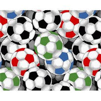 Anti-Pill Packed Soccer Balls Fleece 328