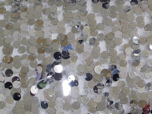 Dangle Scale Sequins SILVER