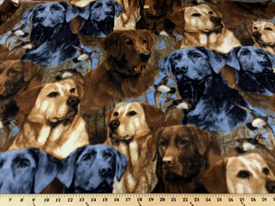 Premium Anti-Pill Hunting Dogs Fleece 396