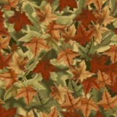 Anti-Pill Foliage Camo Fleece 418