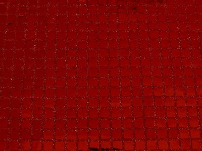 Square Sequins RED