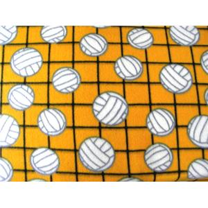 Volleyball Yellow Fleece 44