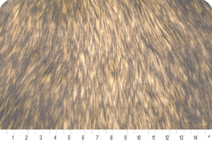Golden Wolf Fur Gold/Brown MF-51