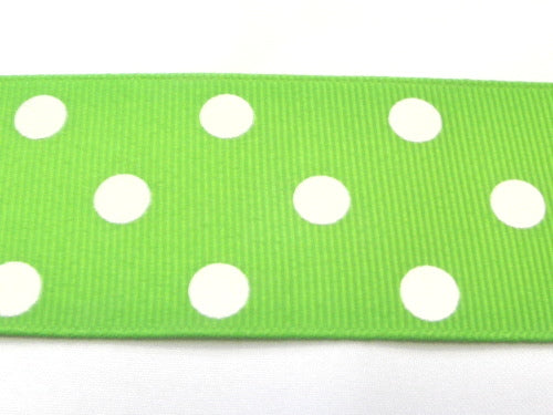 "1 1/2"" Grosgrain Ribbon W/Dots"