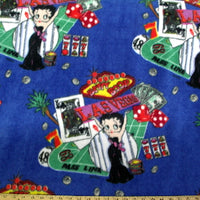 Premium Anti-Pill Betty Boop Vegas Fleece 11