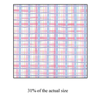 Premium Anti-Pill Pastel Plaid Fleece 257