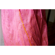 "Silk Dupioni 54"" PINK ORANGE"