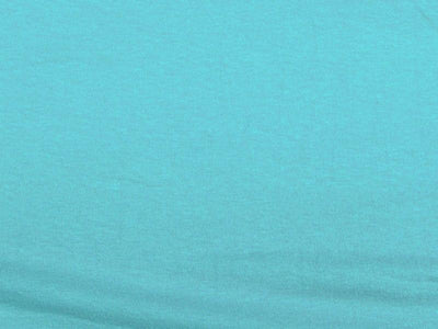 10 Ounce Cotton Jersey Spandex Knit AQUA