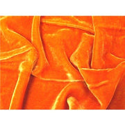 "Plush Silk Velvet 54"" Wide ORANGE"