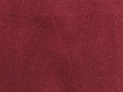 100% Cotton Med Weight Velvet BURGUNDY