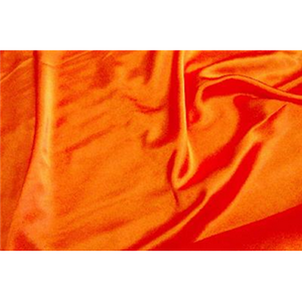 Crepe Back Satin Orange
