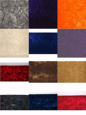 SWATCHES Upholstery Crushed Velvet