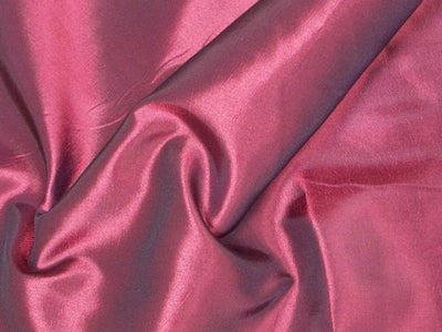 Two Tone Dress Taffeta Magenta