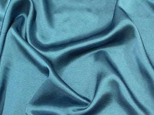 Crepe Back Satin Teal