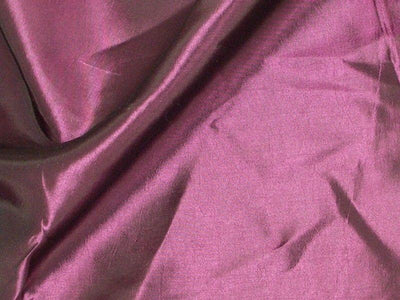 Two Tone Dress Taffeta Eggplant