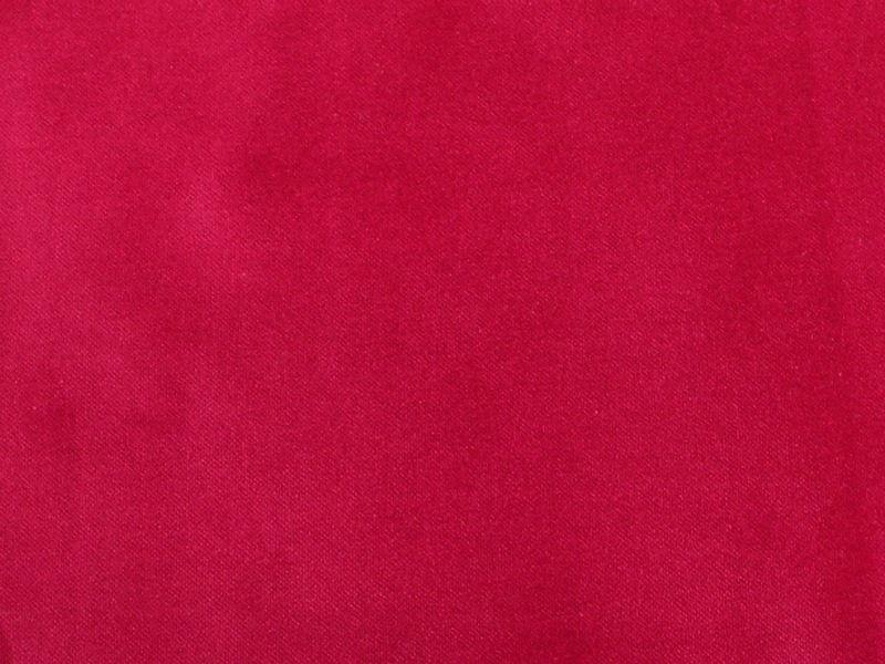 100% Cotton Med Weight Velvet SANGRIA