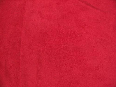 Upholstery Micro Suede RED Dye Lot 2