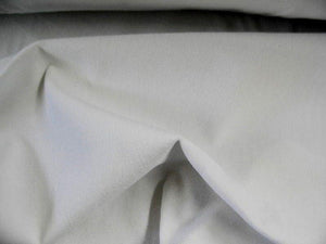 100% Cotton Med/Light Weight Velvet WHITE