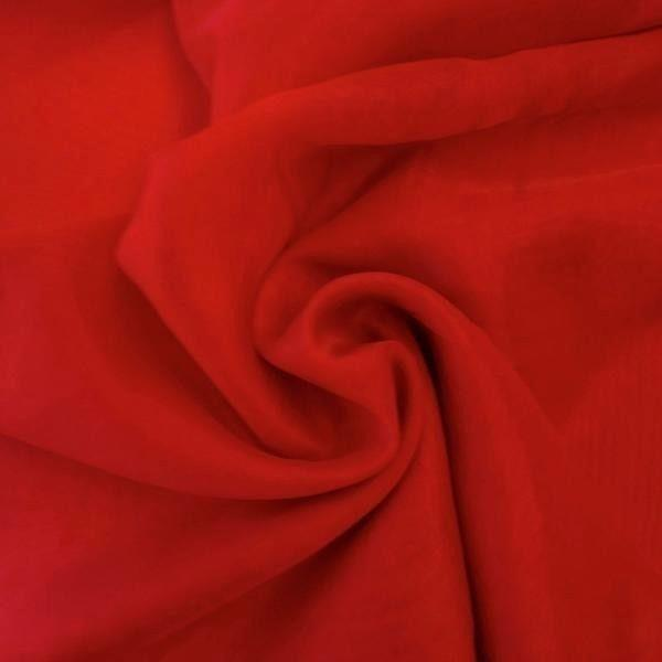 "Voile 120"" Wide Sheer Fire Retardant NFPA 701 Red VL-10"