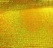 Hologram Square Sequins YELLOW GOLD HS-2