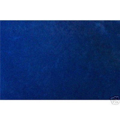 Alova Suede Cloth Electric Blue