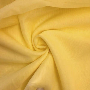 "Voile 120"" Wide Sheer Fire Retardant NFPA 701 Gold VL-4"