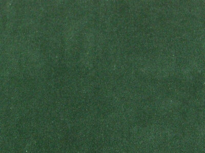 100% Cotton Med/Light Weight Velvet HUNTER GREEN