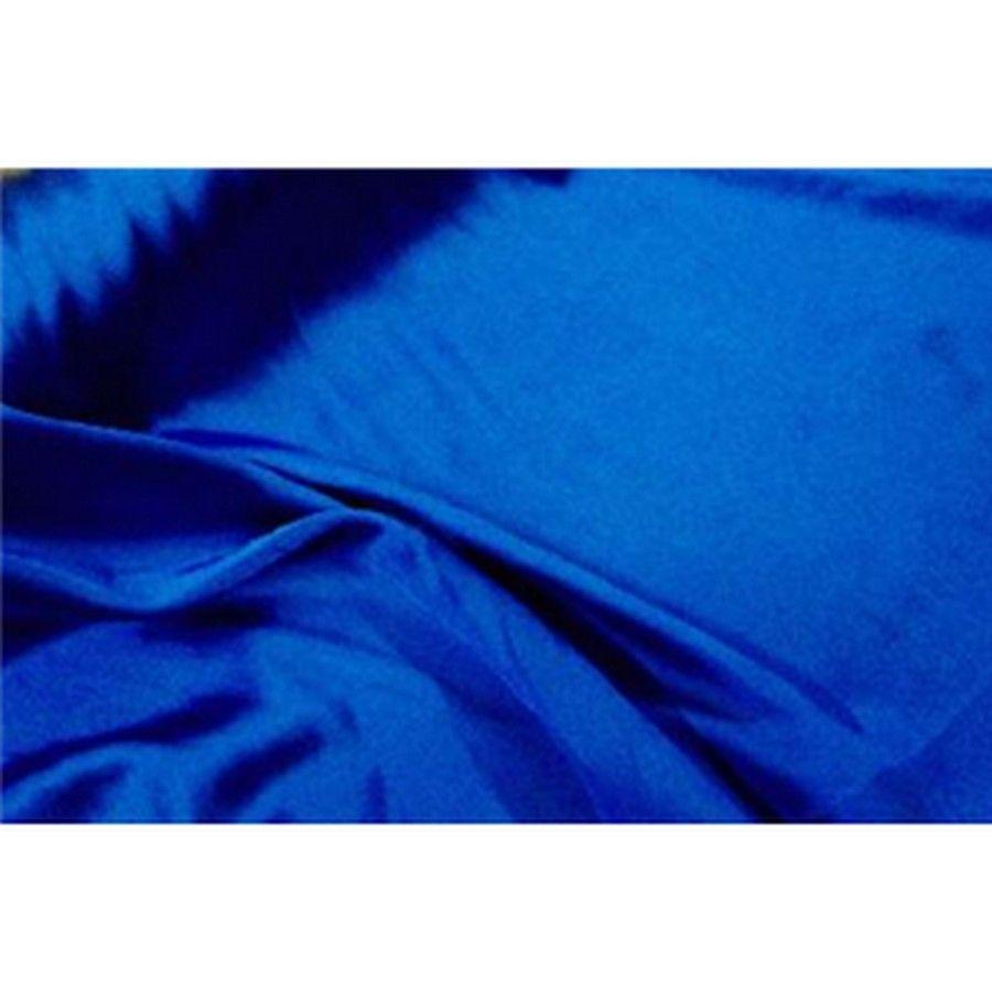 Stretch Charmeuse Satin Royal Blue
