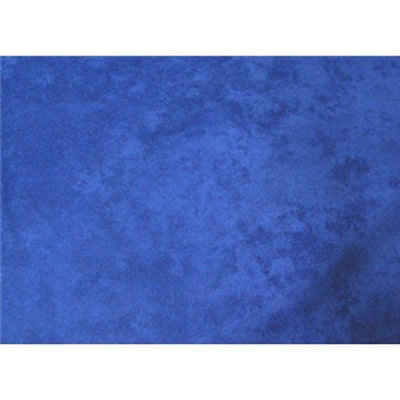 Upholstery Micro Suede ELECTRIC BLUE