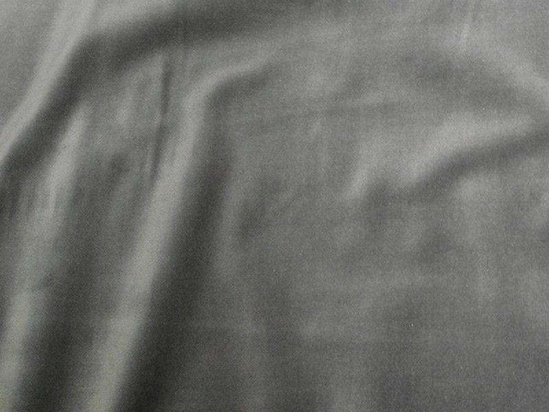 100% Cotton Med Weight Velvet STEEL GRAY