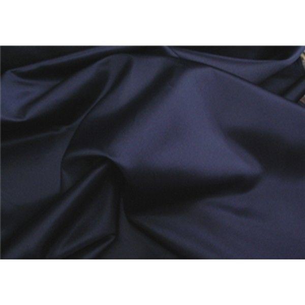 Stretch Heavy Weight Lamour Dull Satin NAVY BLUE SLS-7