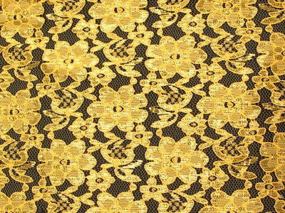 Rachel Lace YELLOW/GOLD FL-18