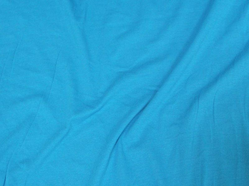 7 Ounce Cotton Jersey Spandex Knit TURQUOISE