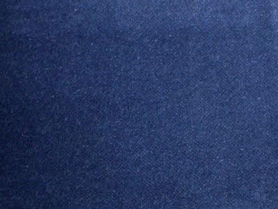 100% Cotton Med Weight Velvet PATRIOT BLUE