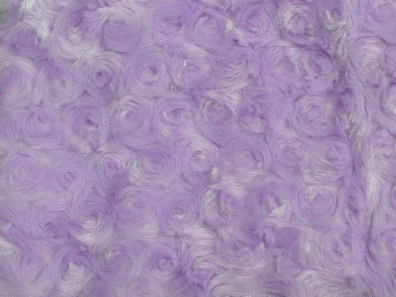 Rose Bud Fur DARK LAVENDER